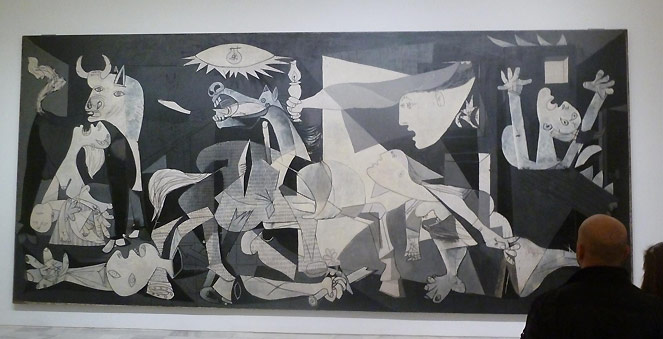 meaning behind picassoe guernica
